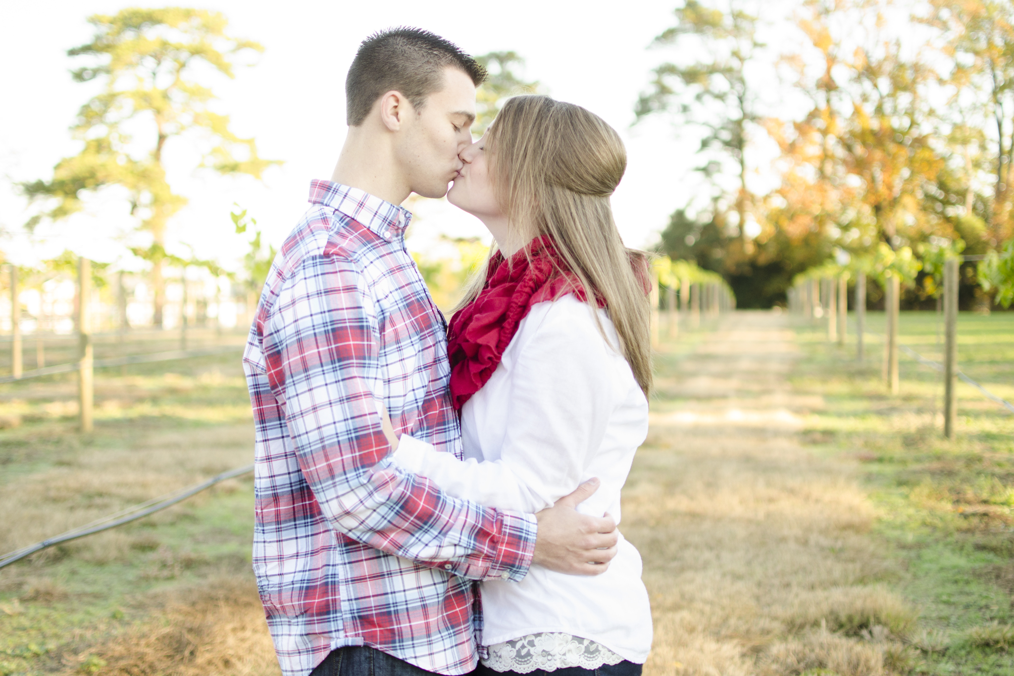 Smithfield, Virginia Windsor Castle Park engagement photographer