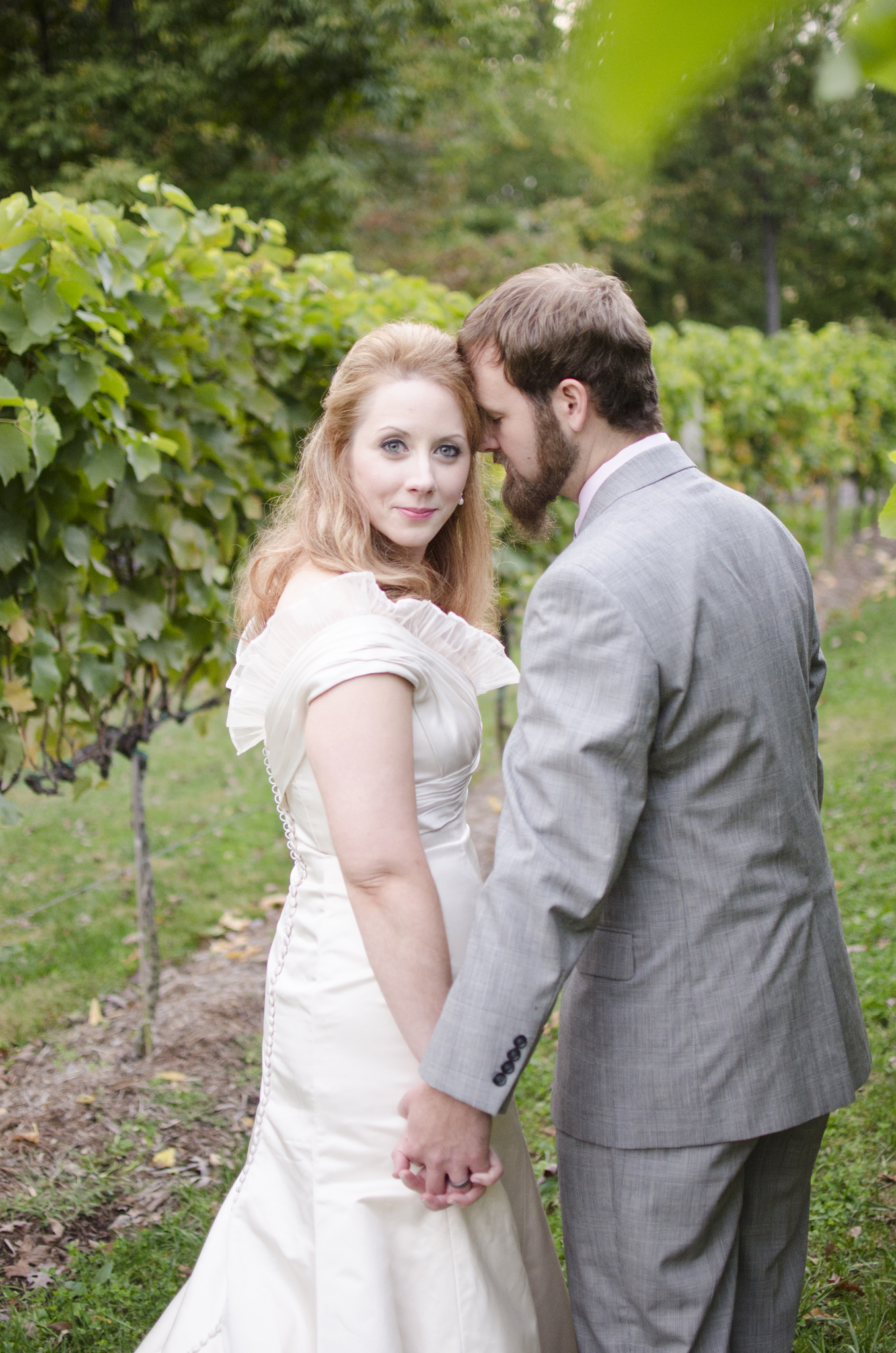 Veritas Vineyard Charlotteville, Virginia wedding photographer