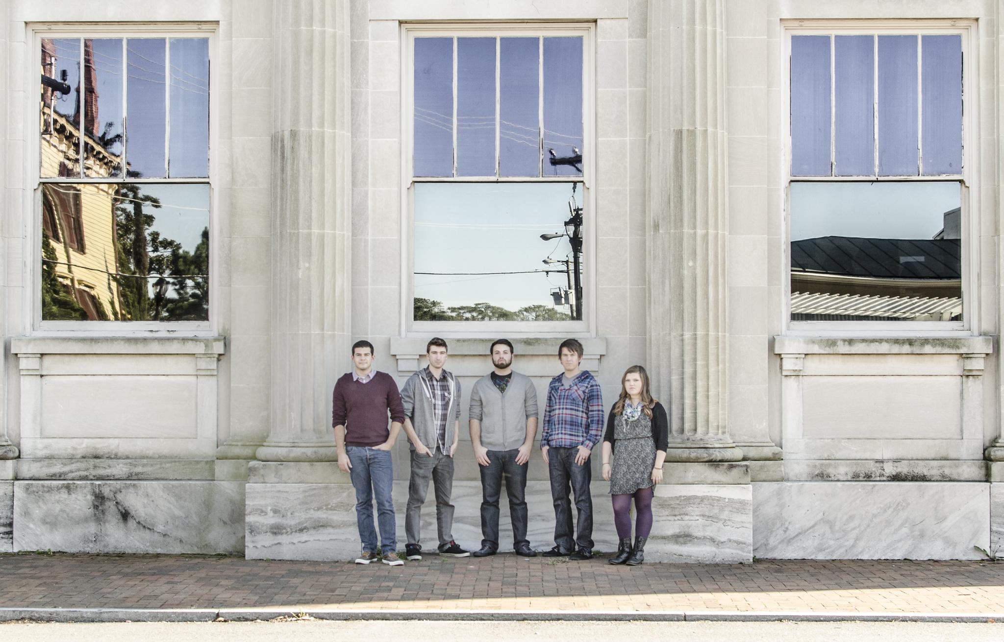 Fox Hole Kingdom in Downtown Smithfield band press photos