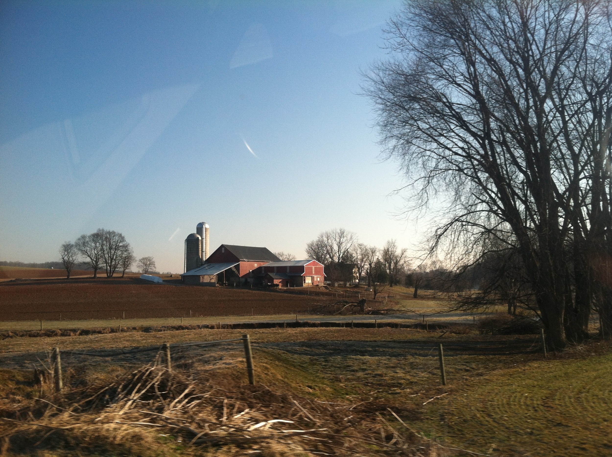 Amish country means lots of barns!
