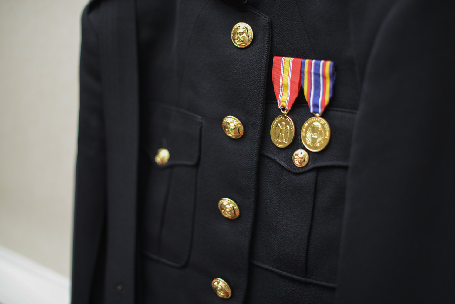 Decorated Navy active duty military |Maria Grace Photography