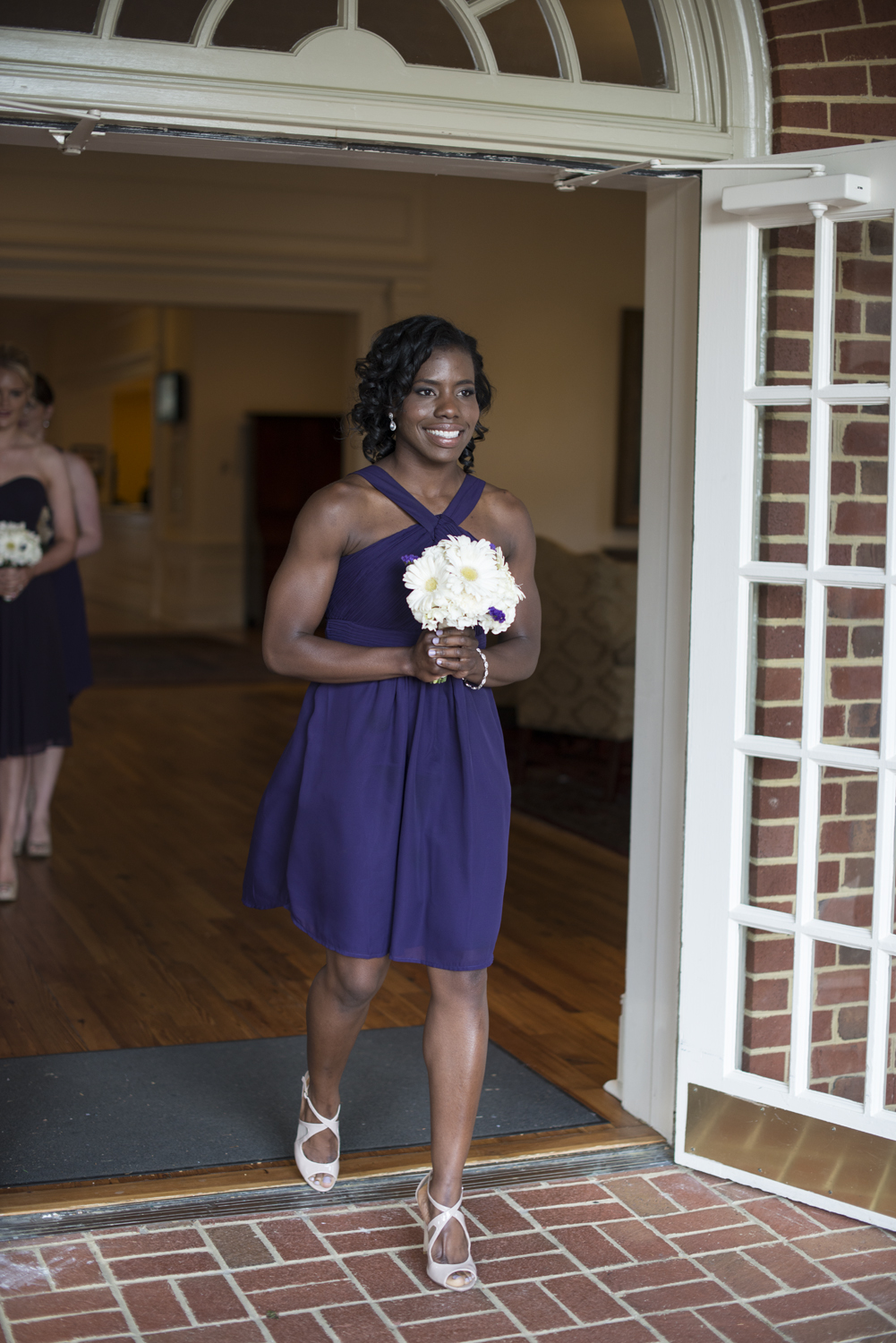 Bridal party procession |Maria Grace Photography