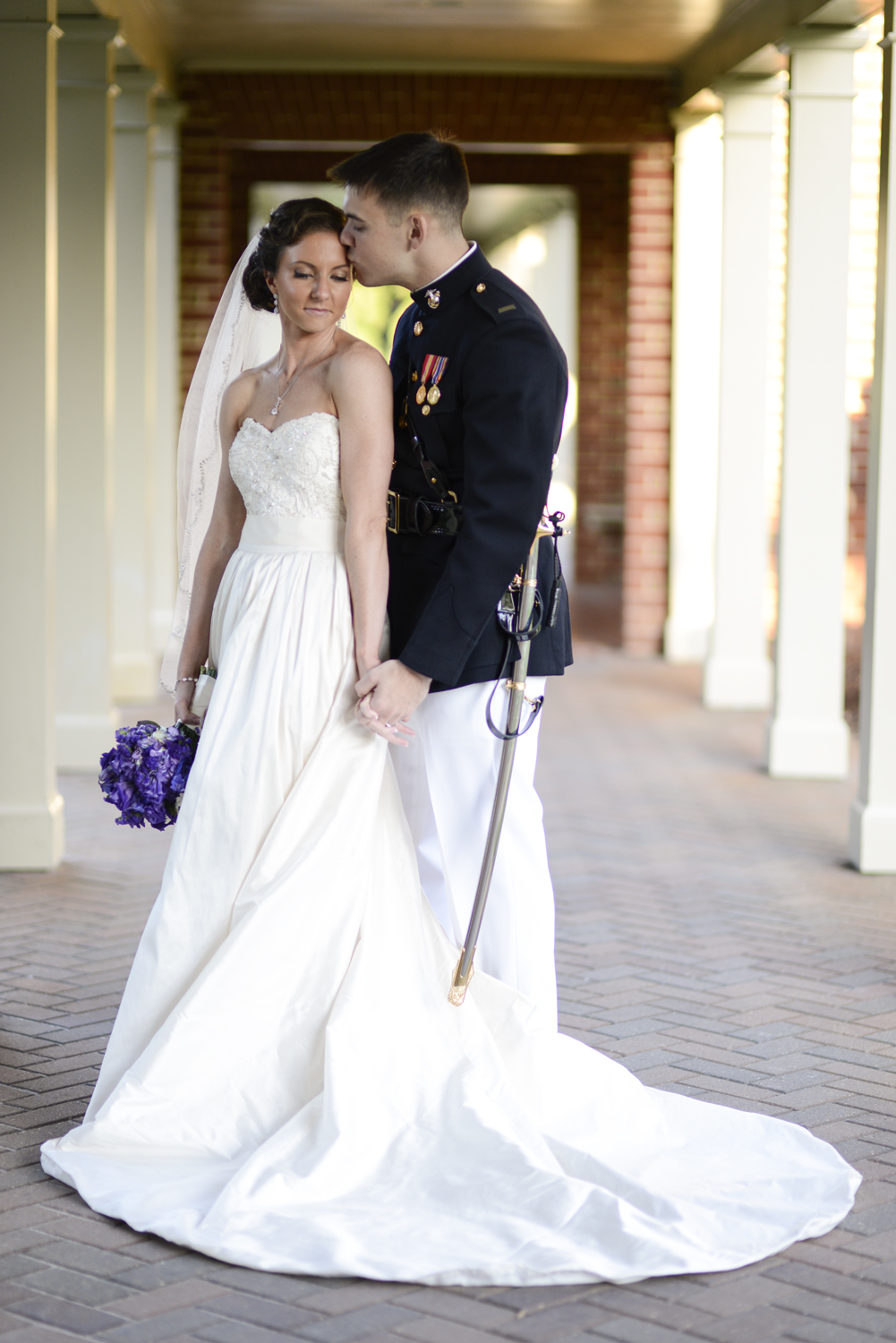 Bride and groom's wedding portraits | Maria Grace Photography