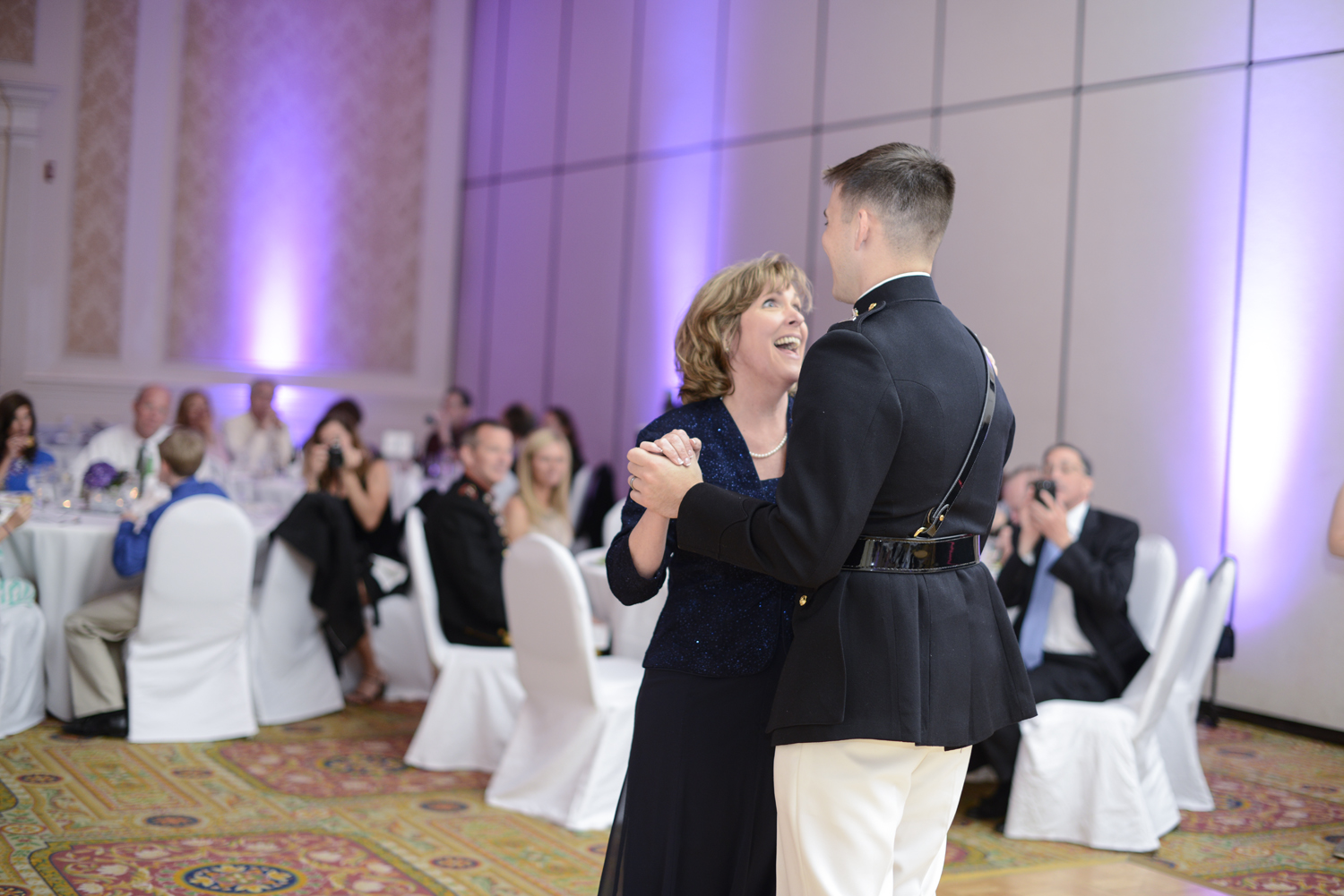 Mother/son wedding dance | Maria Grace Photography