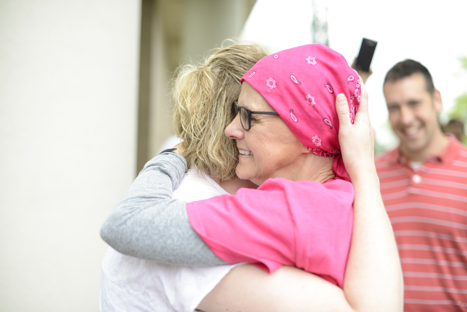 Peggy's last cancer treatment | Maria Grace Photography