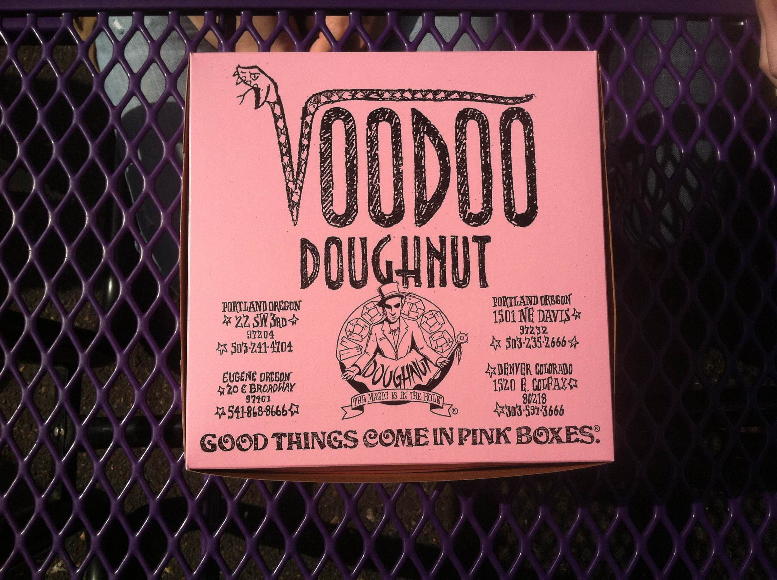 Voodoo Doughnuts in Portland, Oregon | Maria Grace Photography