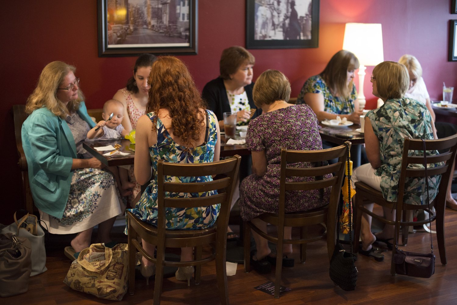 Bridal shower at The By and By in Downtown Staunton, Virginia