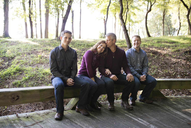 Windsor Castle Park fall family portraits in Smithfield, Virginia