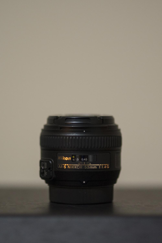 Nikon 50mm f/1.4 Lens