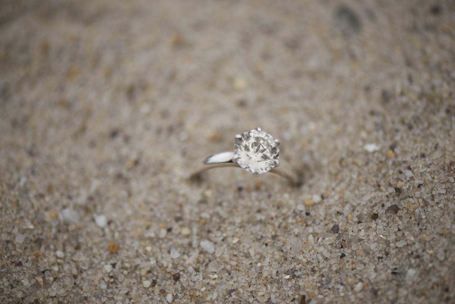 Ring shot ideas for beach engagements and weddings