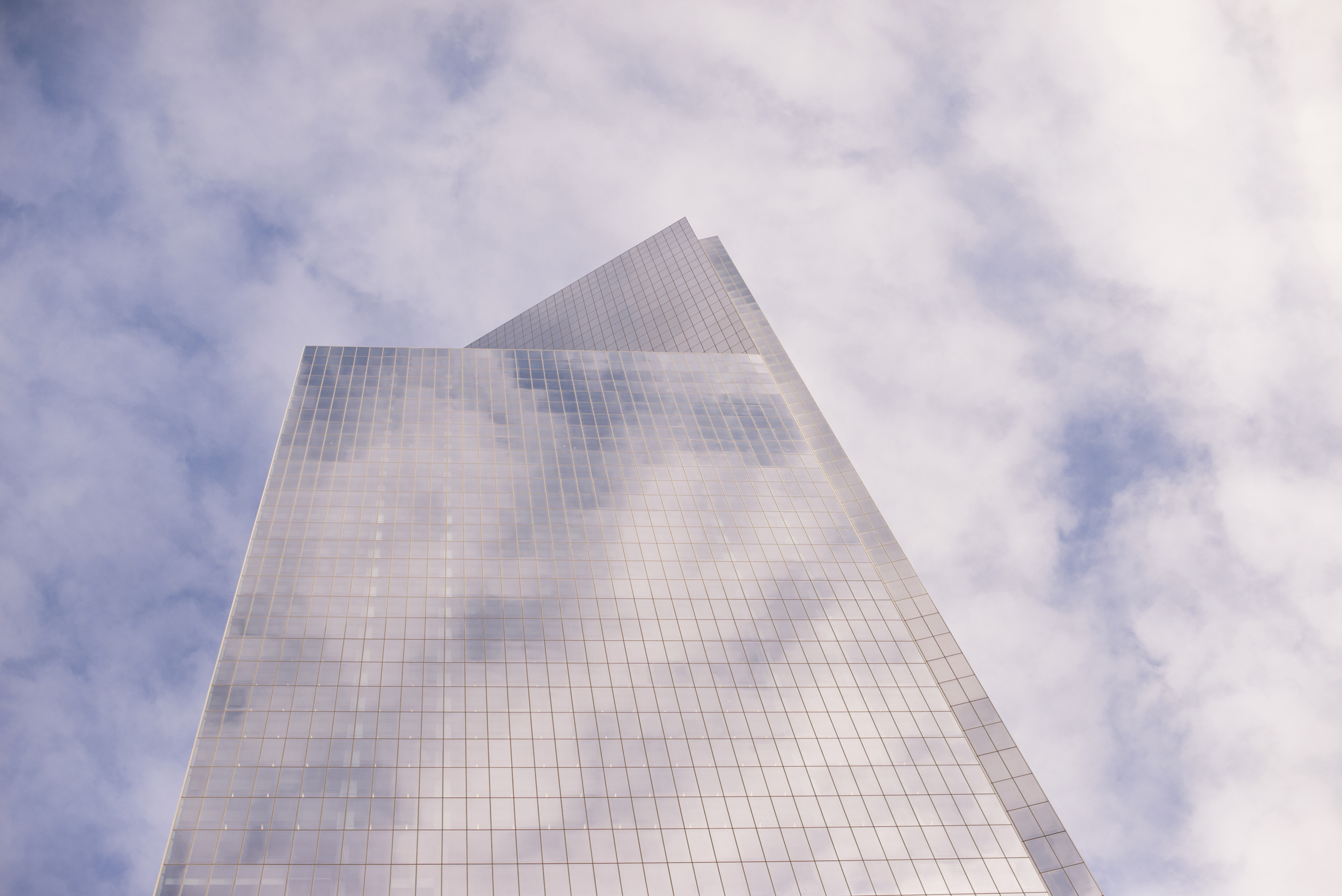 The rebuilt World Trade Center in New York City