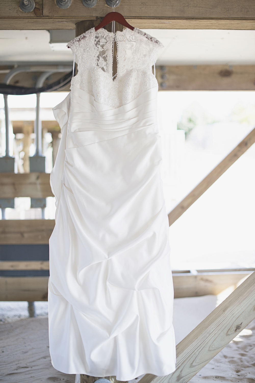 David's Bridal Wedding Dress | Beach wedding | Virginia Beach
