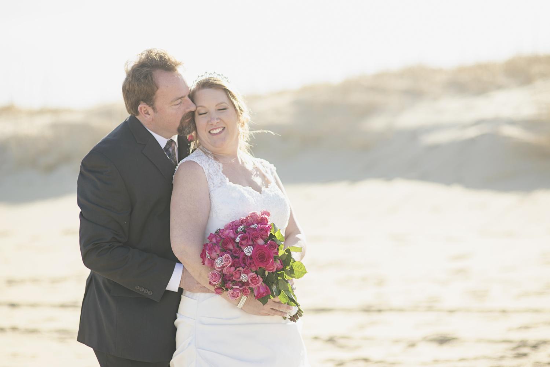 Beach bride and groom portraits | Virginia Beach wedding