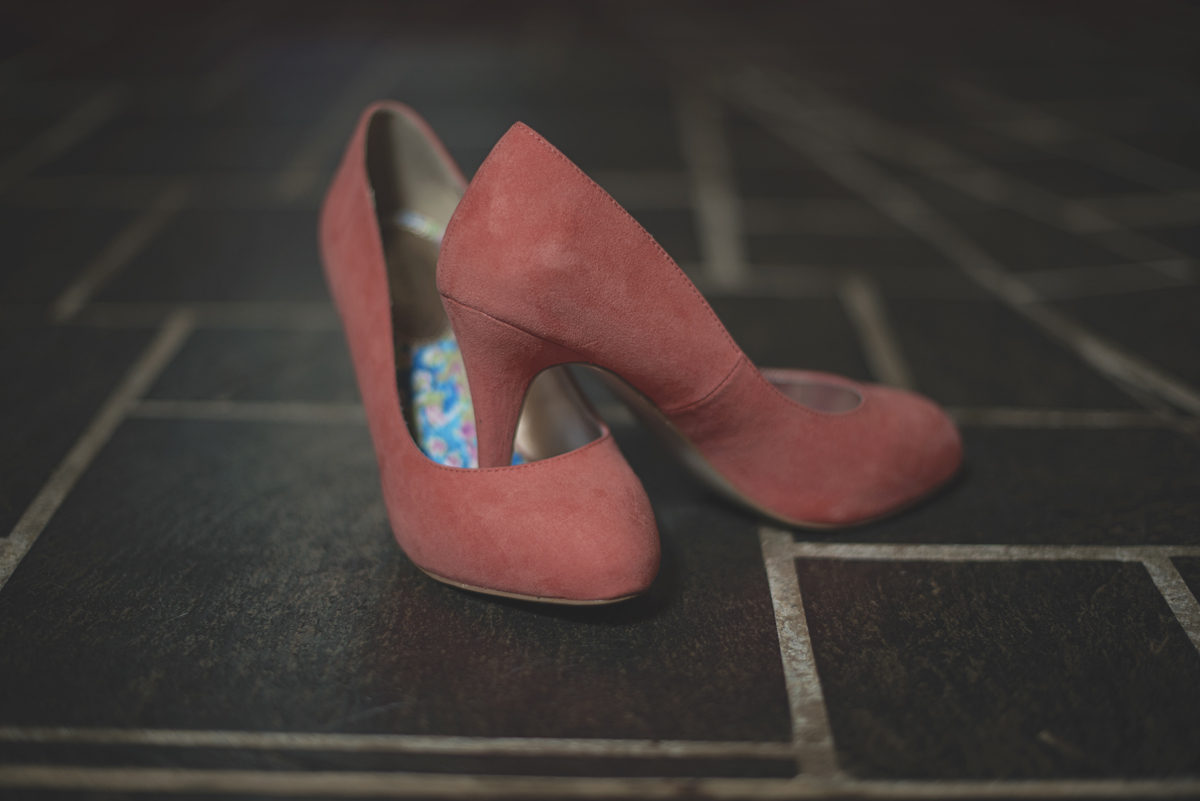 Coral wedding shoes   Madden Girl wedding shoes