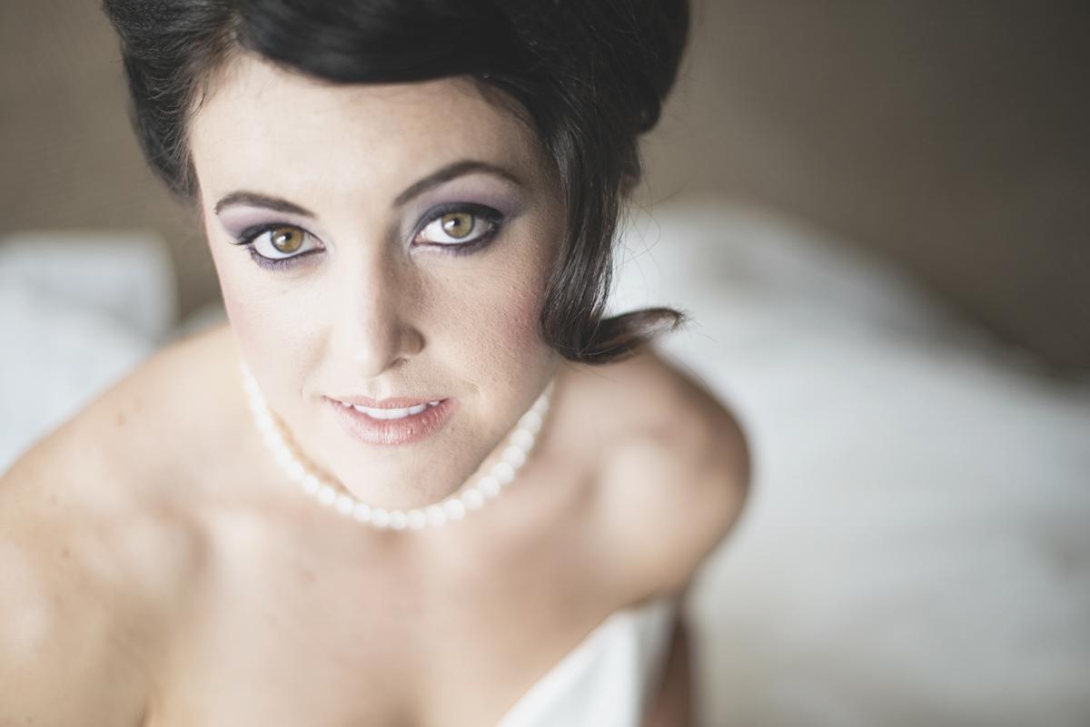Iconic bridal portrait | Wedding day portrait