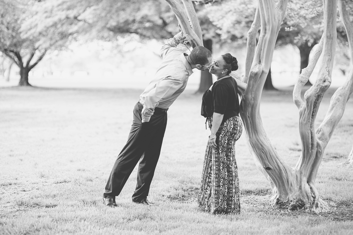 Romantic black and white photo inspiration