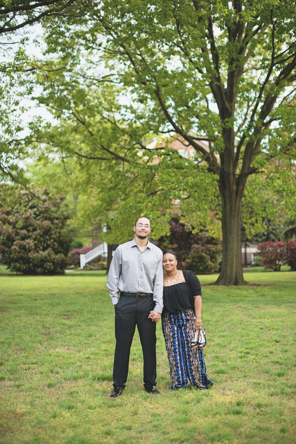 Spring engagement photo inspiration in Virginia