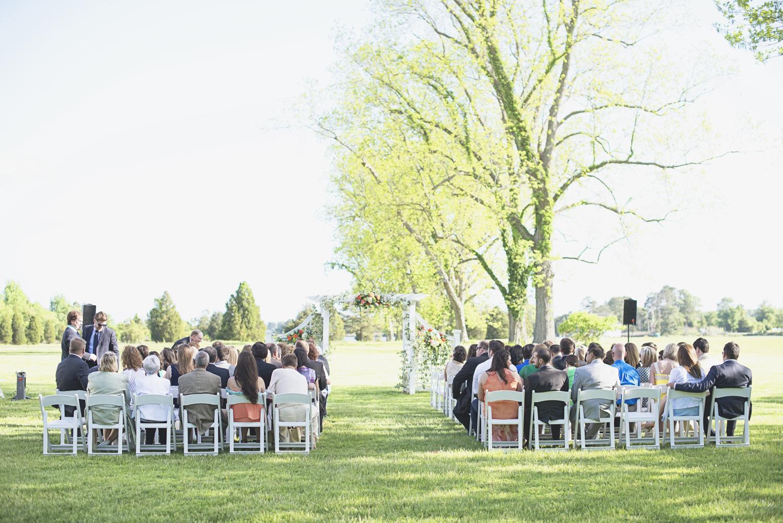 Inn at Warner Hall Wedding P  hotography | Wedding ceremony