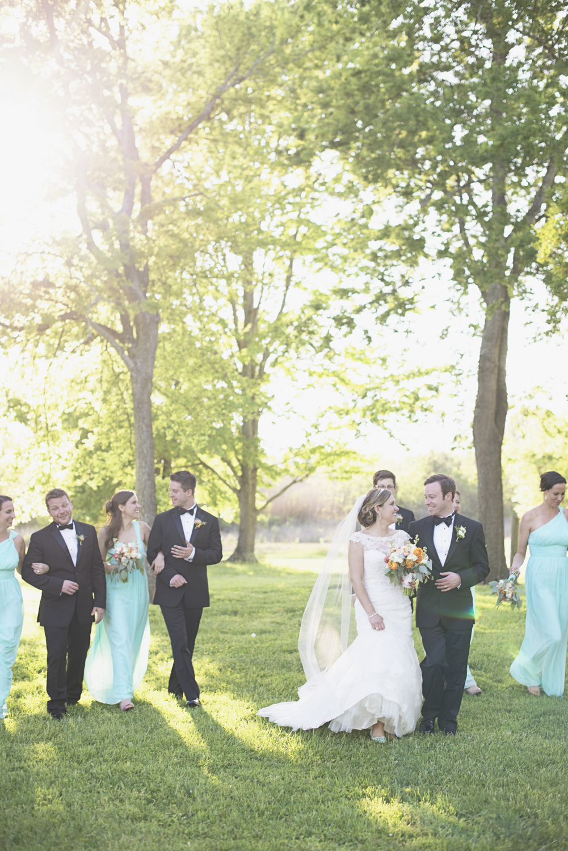 Inn at Warner Hall Wedding P  hotography | Wedding party