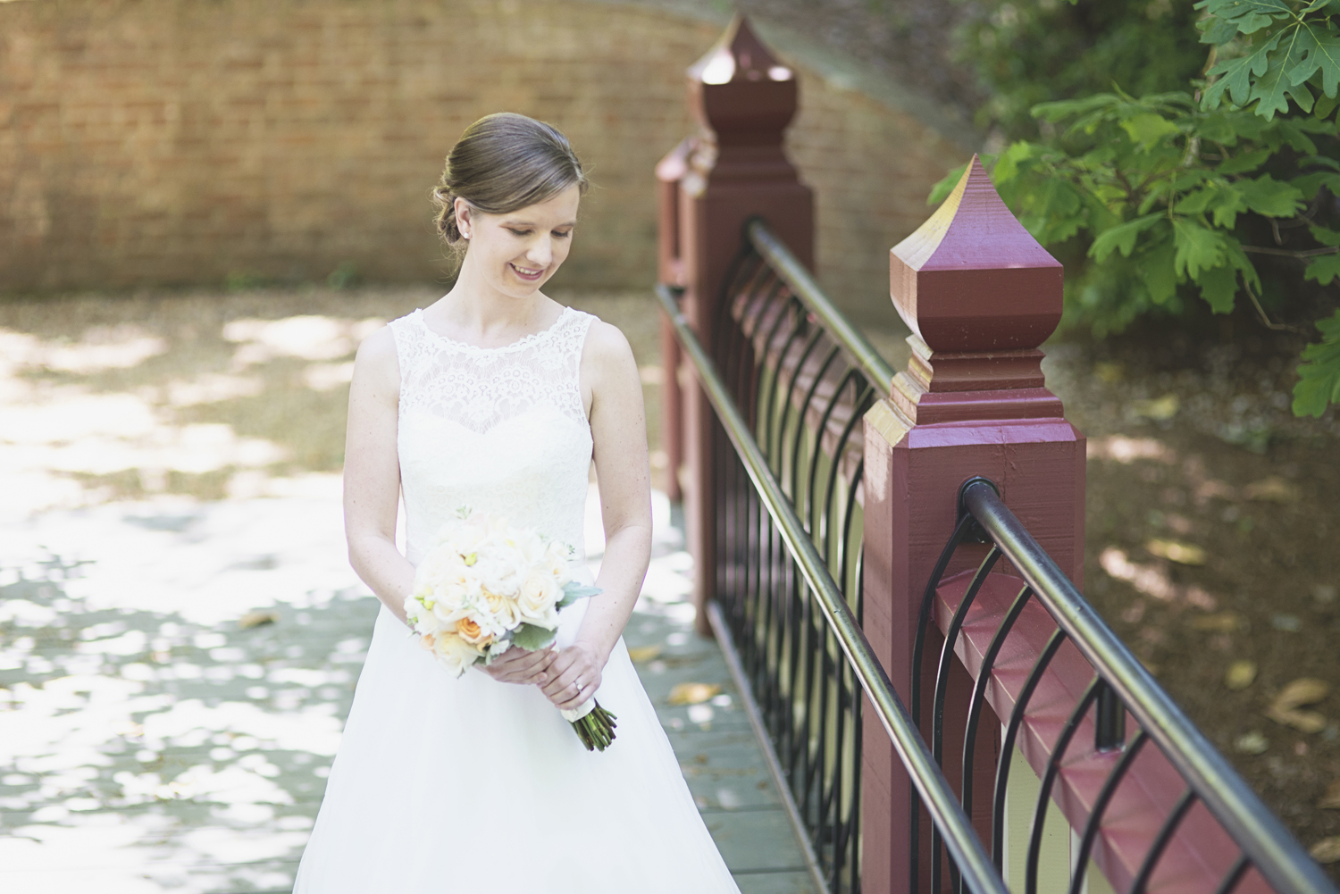 Crim Dell Bride at William and Mary Wedding | Bridal portrait