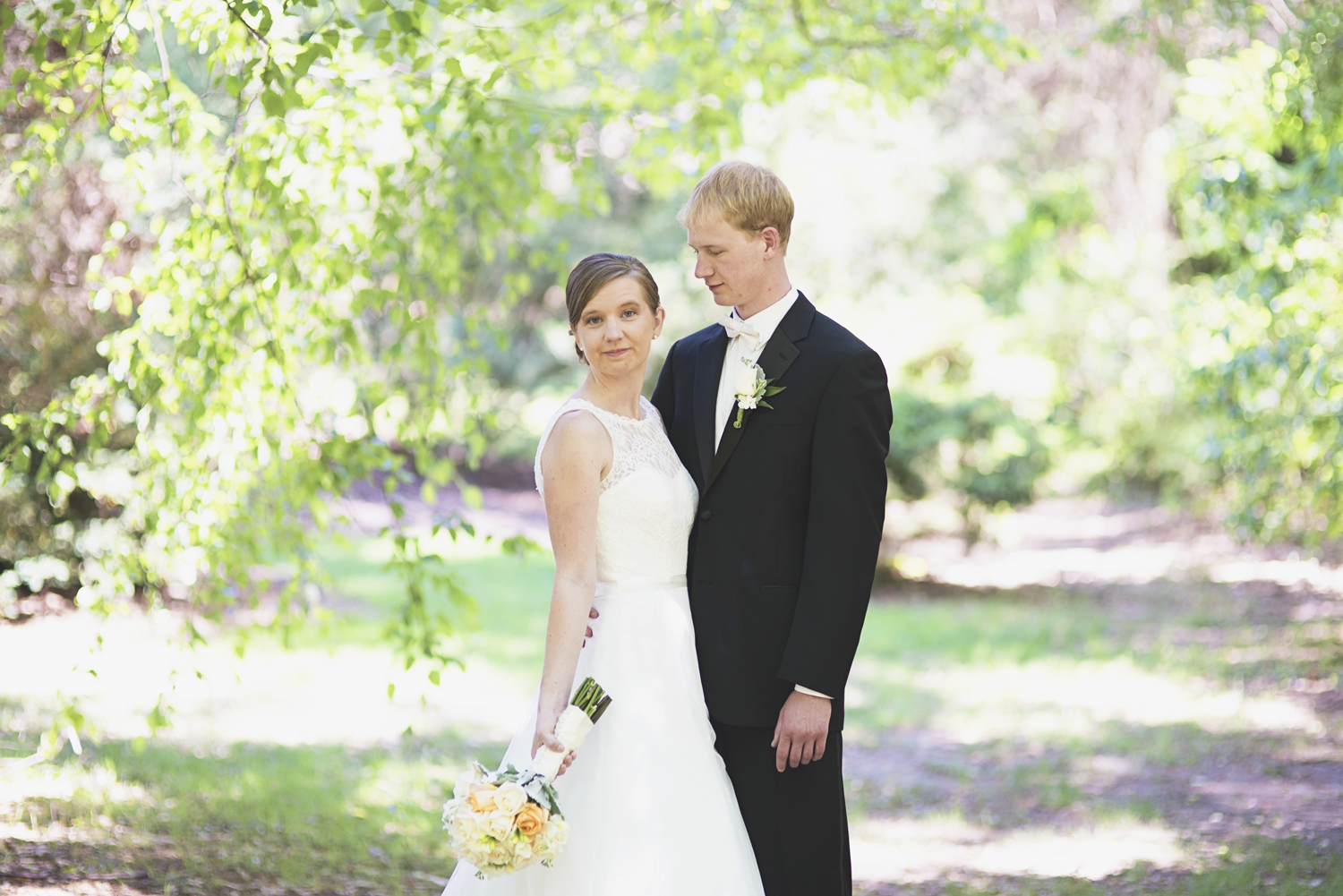 William and Mary Wedding |   First look bride & groom portraits
