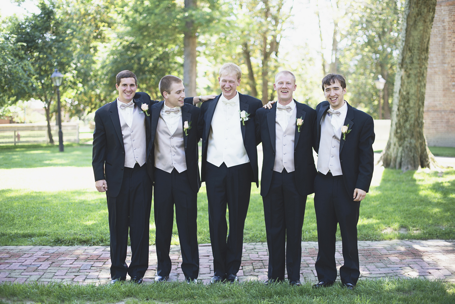 William and Mary Wedding |   Bridal party