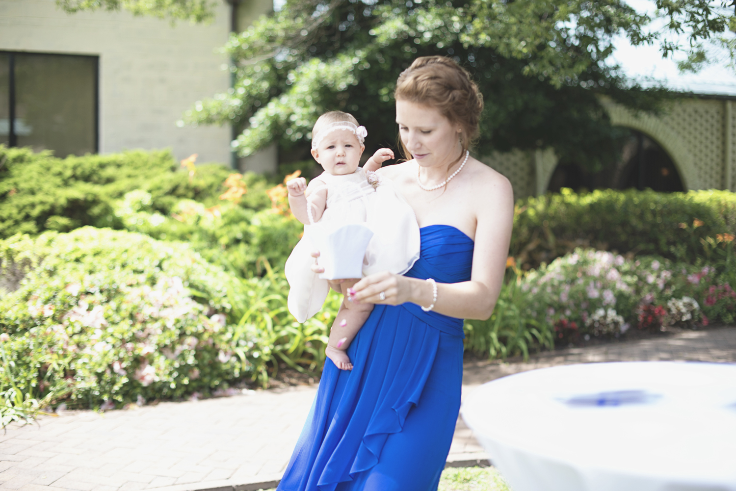 Mariners Museum Wedding | Newport News, Virginia |  Flower girl