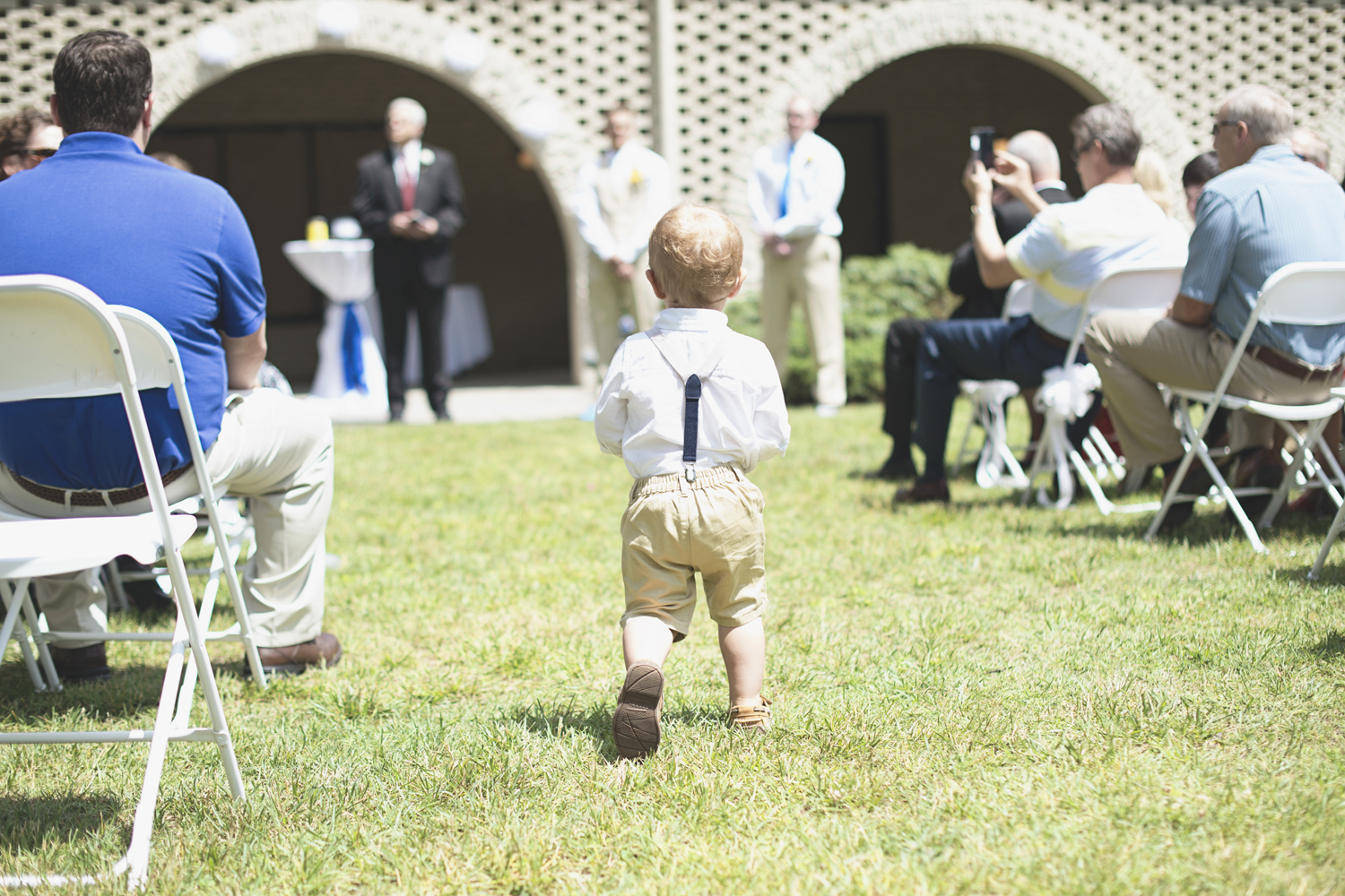 Mariners Museum Wedding | Newport News, Virginia |  Ring bearer