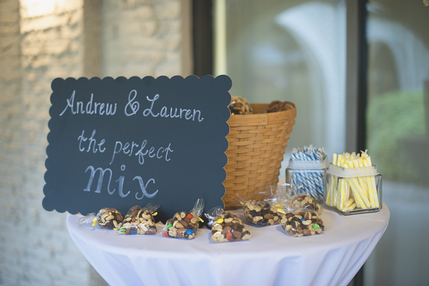Mariners Museum Wedding | Newport News, Virginia |  Trail mix wedding favors