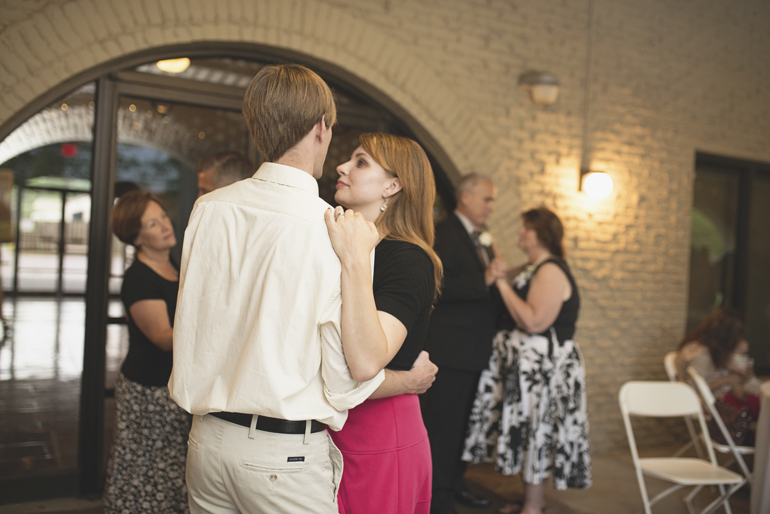 Mariners Museum Wedding | Newport News, Virginia |  Wedding reception guests dancing