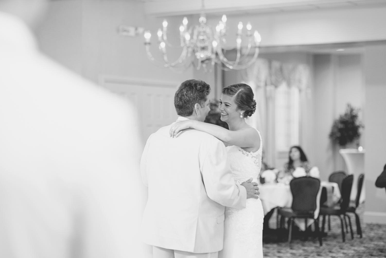 Langley Chapel Air Force Military Wedding | Hampton, Virginia | Father daughter dance