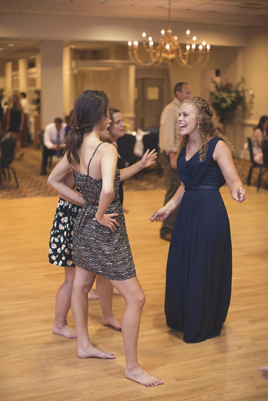 Langley Chapel Air Force Military Wedding | Hampton, Virginia | Wedding reception dancing