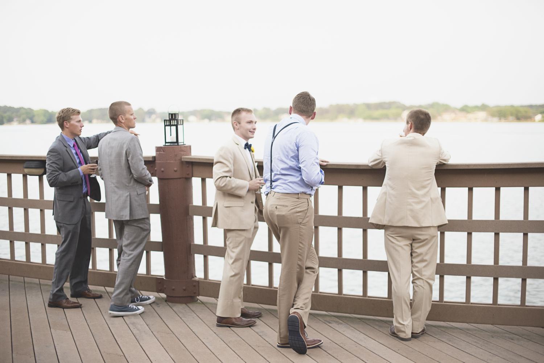 Langley Chapel Air Force Military Wedding | Hampton, Virginia | Wedding reception