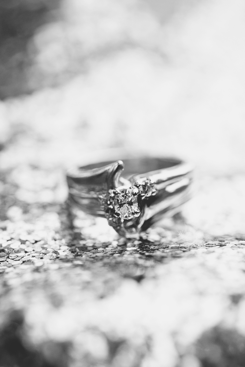 Sparkly TOMS ring shot