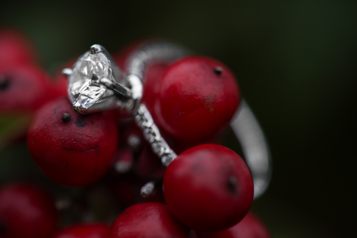 Berry Engagement Ring Shot