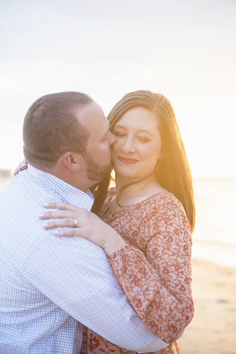 Virginia Beach Sunset Engagement Session