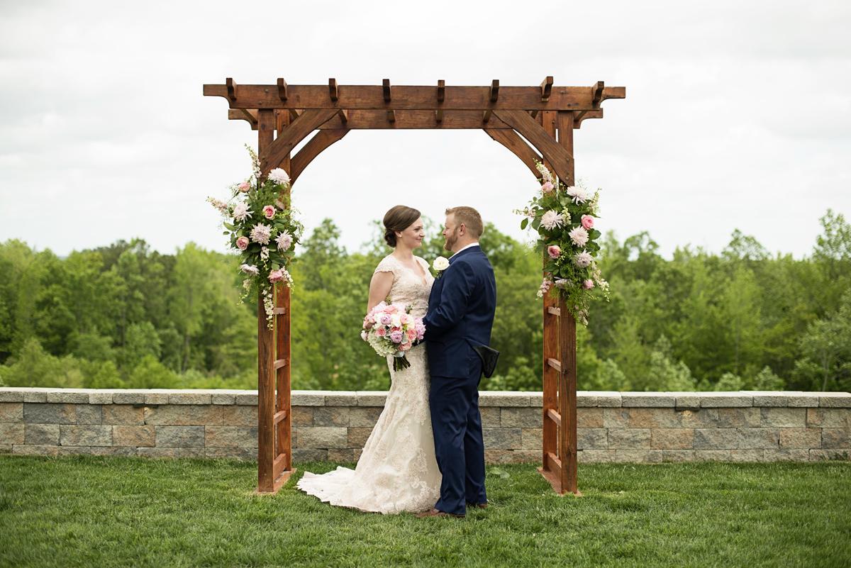 Saude Creek Vineyards Elopement Williamsburg Wedding