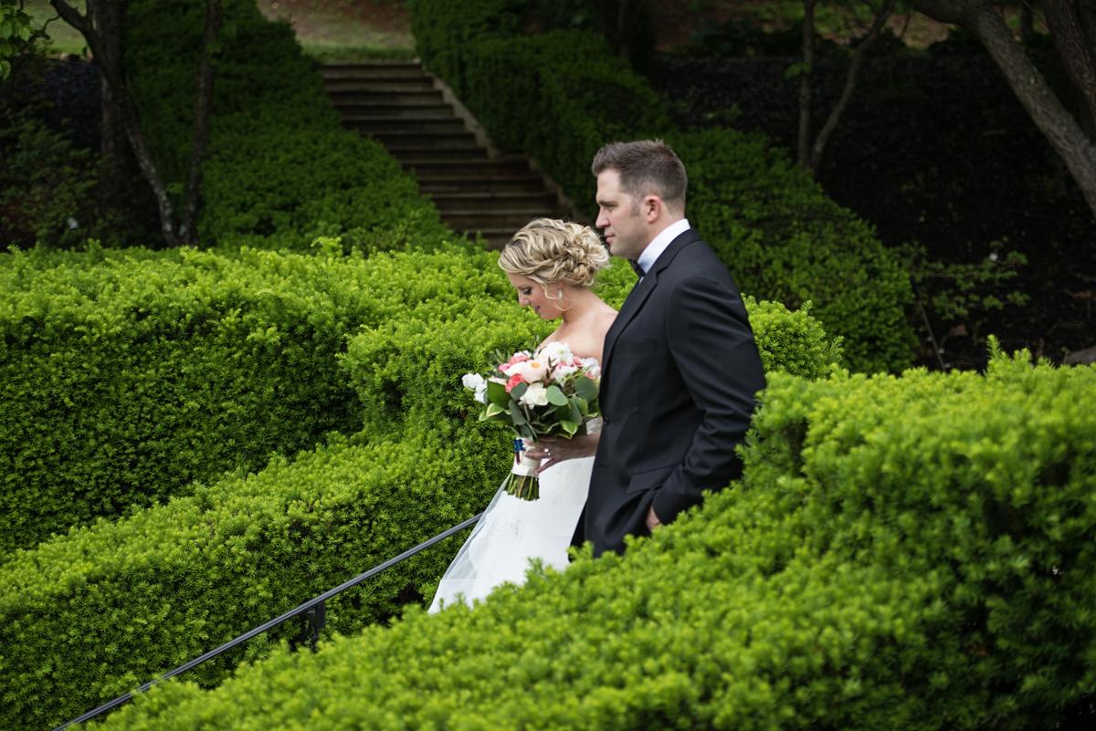 Albemarle Estate at Trump Winery Wedding   Bride and Groom Portraits