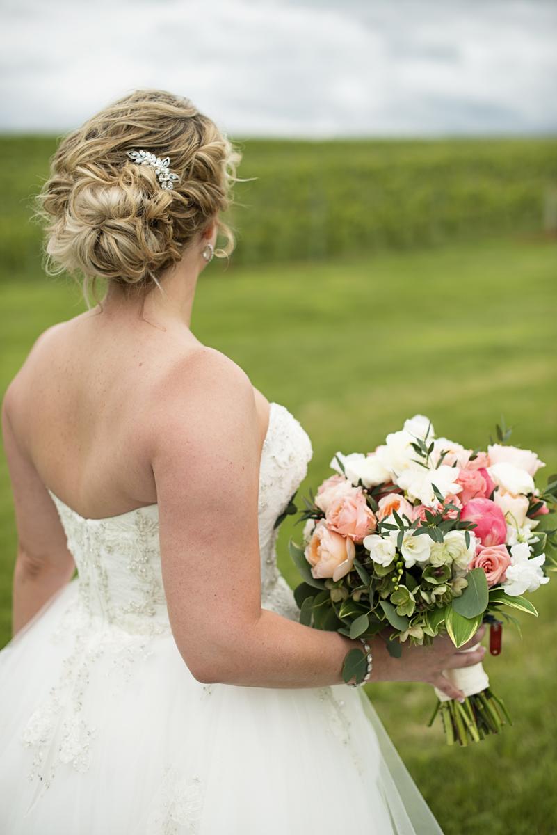 Albemarle Estate at Trump Winery Wedding   Bridal Portrait