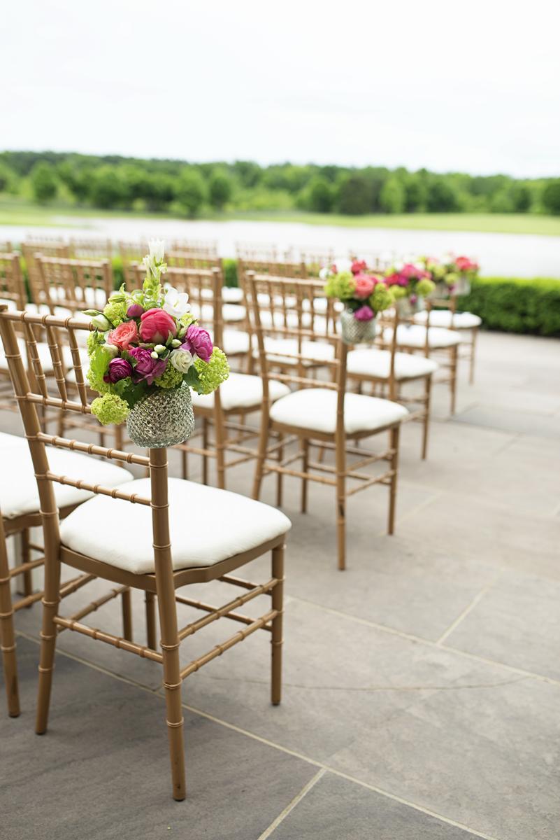 Albemarle Estate at Trump Winery Wedding   Gold Chiavari Wedding Chairs