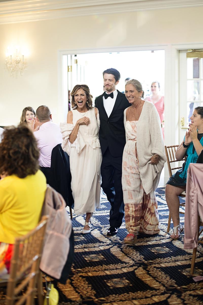 Albemarle Estate at Trump Winery Wedding   Wedding Reception Entrance