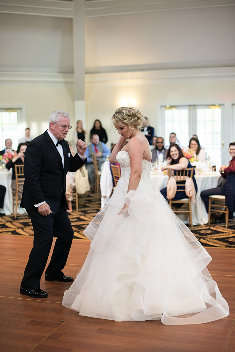 Albemarle Estate at Trump Winery Wedding   Father Daughter Dance