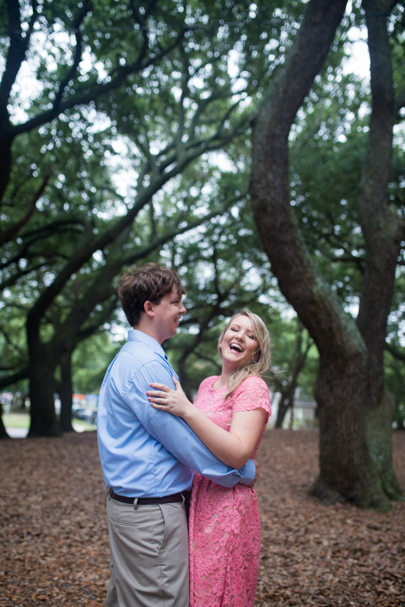 Stormy Summer Engagement Session