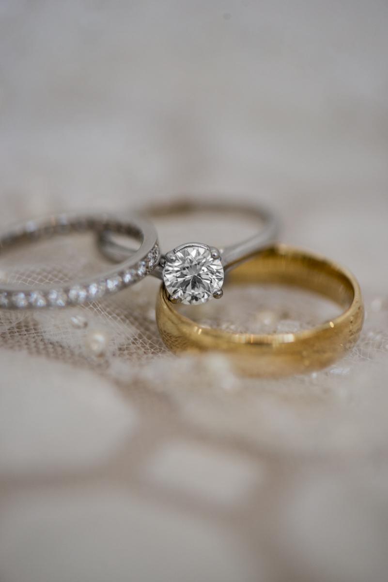 Burgundy and Blush Winter Wedding | Elegant Ring Shot