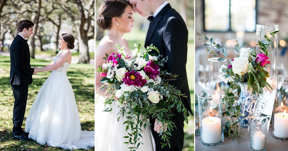 The Cedar Room Charleston Wedding