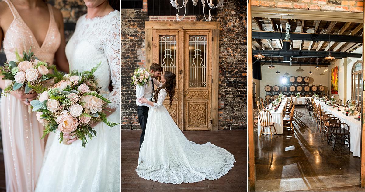 Elegant and Intimate Winery Wedding