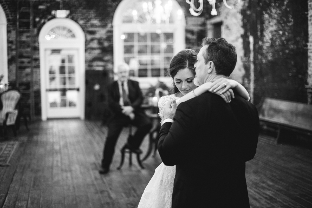 Elegant and Intimate Winery Wedding | Father daughter dance