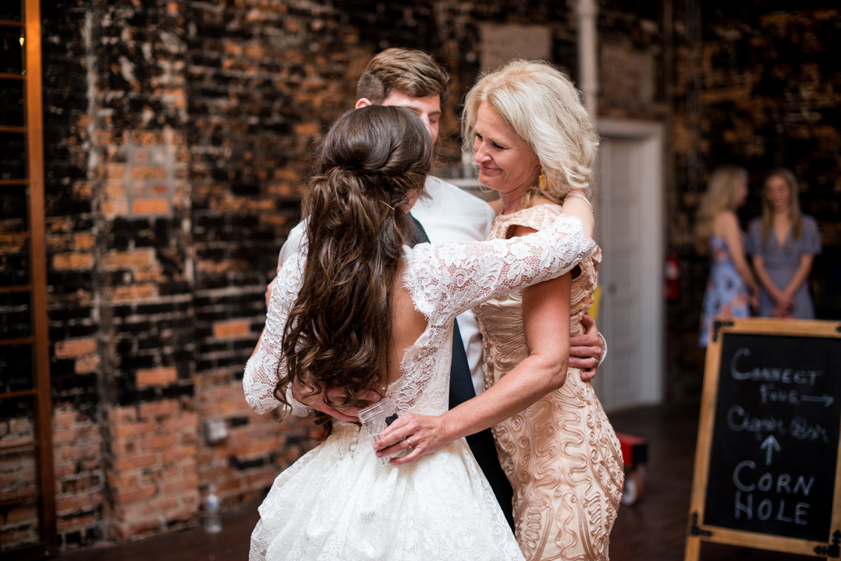 Elegant and Intimate Winery Wedding | Reception dancing