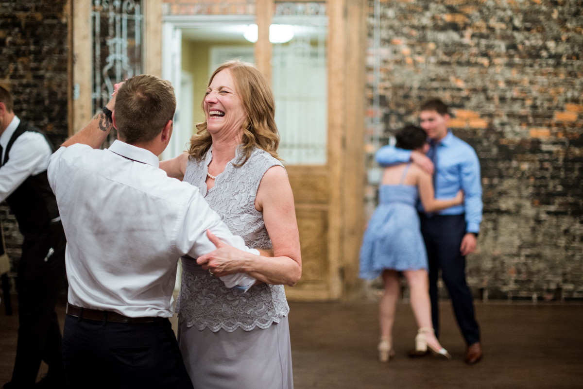 Elegant and Intimate Winery Wedding | Reception guests dancing