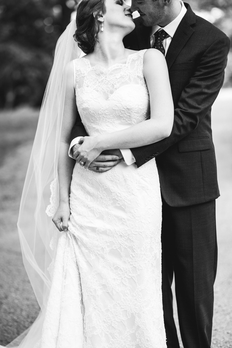 James Monroe Highland Wedding in Charlottesville | Bride and groom portraits